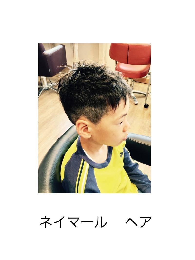 ネイマール 髪型 キッズ